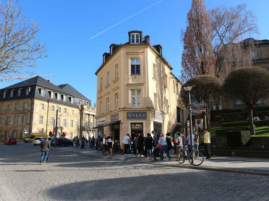 Opera, la mejor heladería de Bayreuth. © Tu Gran Viaje. Viajar a Bayreuth con los Xperts de Tu Gran Viaje