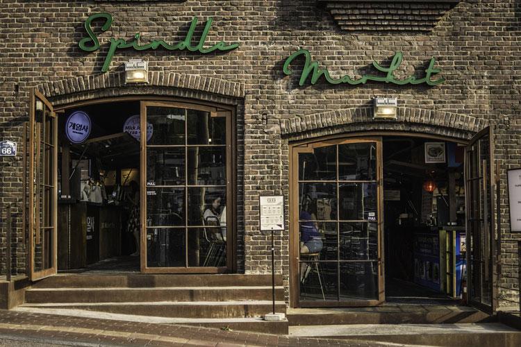 spindle Market, Itaewon. Dónde comer en Seúl | Tu Gran Viaje revista de viajes y turismo