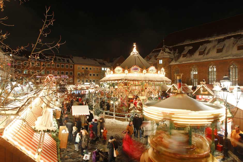 El mercadillo de Navidad de Nuremberg, el más famoso del mundo