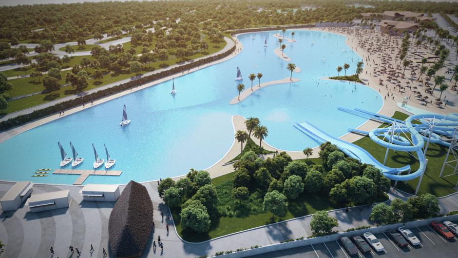 Alovera Beach Crystal Lagoons, la playa de Madrid | Revista Tu Gran Viaje