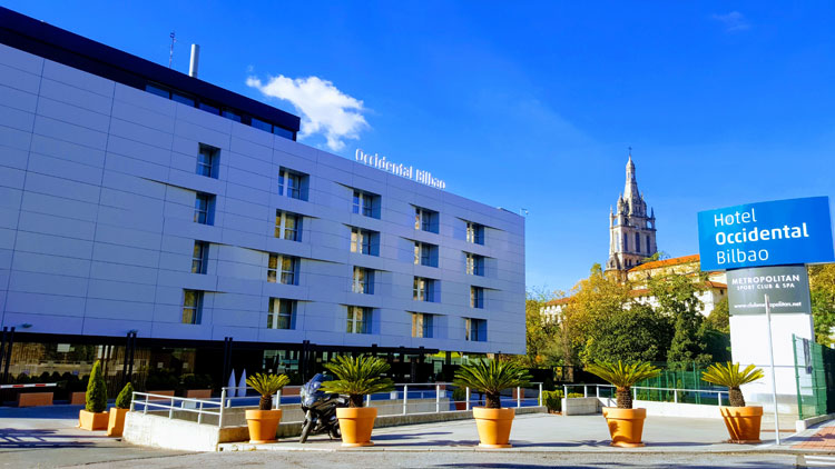 dormir en Bilbao Hotel Occidental Bilbao | Revista Tu Gran Viaje