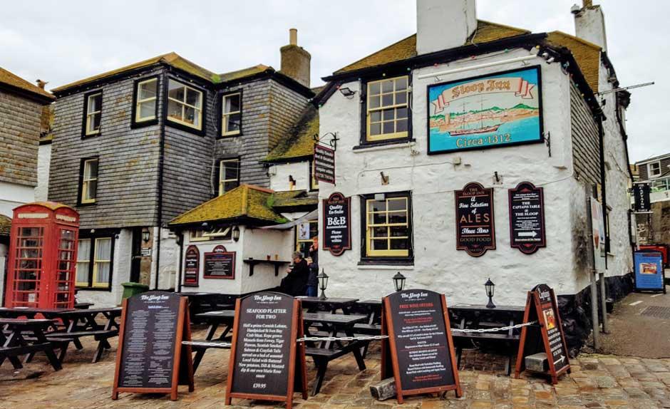 Sloopy Inn pub St Ives | Visitar la Tate St Ives | Revista Tu Gran Viaje