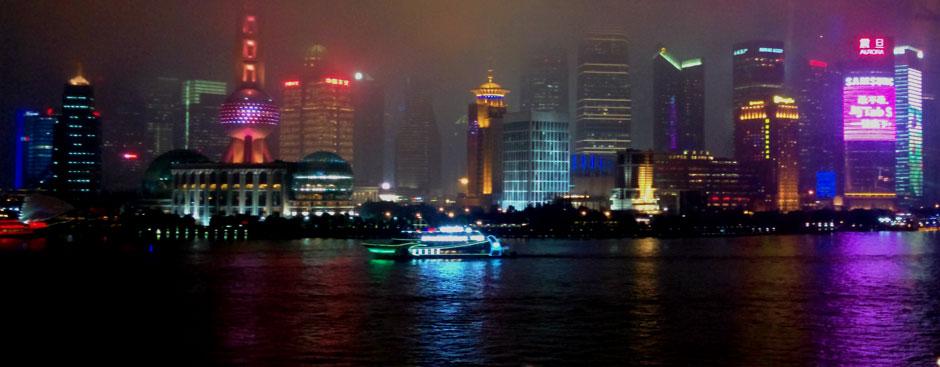 Postal desde el Bund de Shanghai | Foto © Tu Gran Viaje