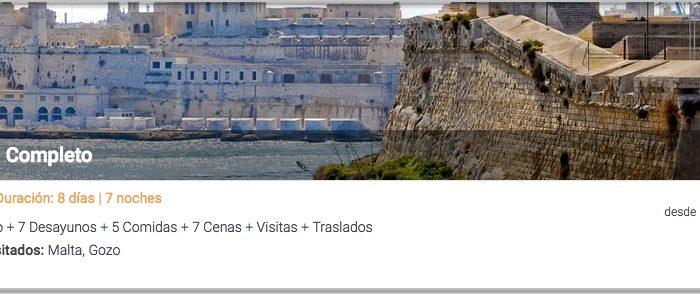 Ofertas de Viajes baratos a Malta con Tu Gran Viaje