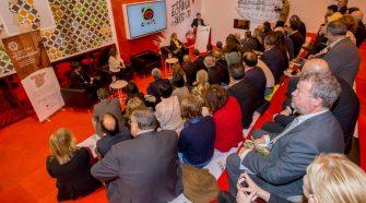 Turespaña arropa a la Red de Juderías en su exitoso acto institucional de presentación en FITUR 2018.
