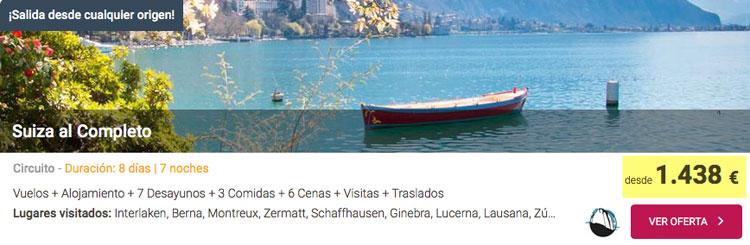 Ofertas de viajes baratos a Suiza | Tu Gran Viaje