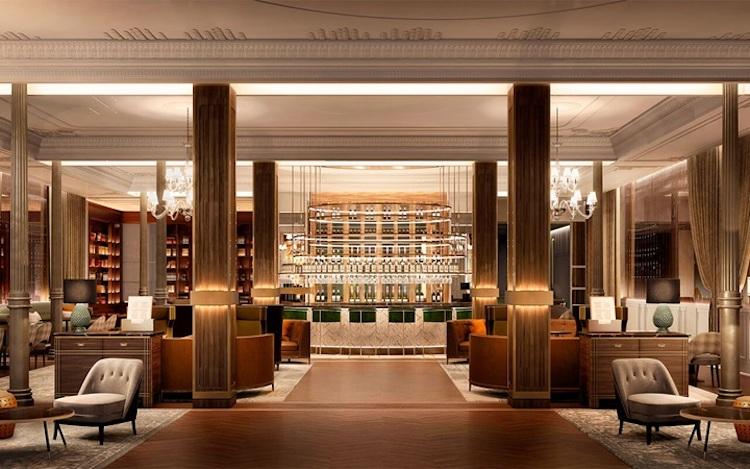 Hall del Gran Hotel Inglés de Madrid   Tu Gran Viaje