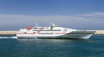 A partir del 8 de junio el ferry de alta velocidad Almudaina Dos de TRASMEDITERRANEA unirá diariamente Gandia, Sant Antoni y Palma | Tu Gran Viaje