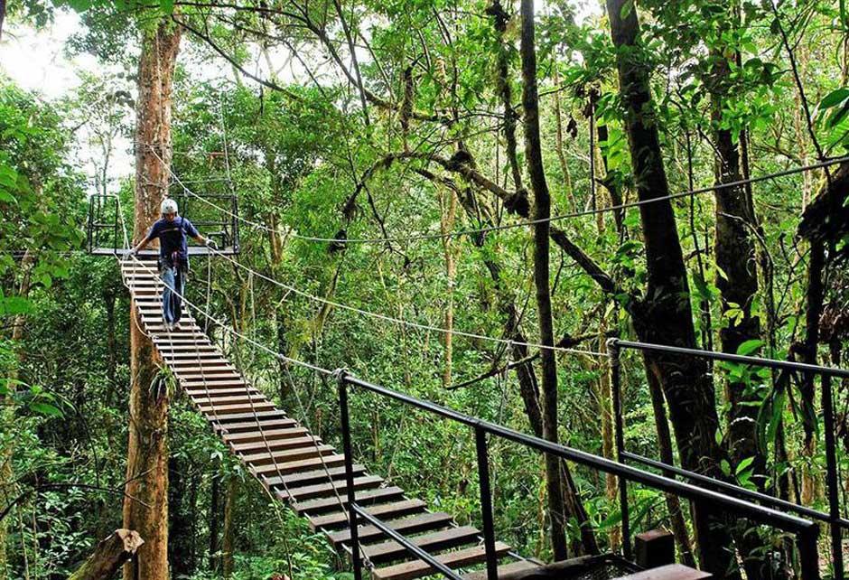 Canopy en el Hotel El Establo | Postal Tica desde Costa Rica | David Granda | Tu Gran Viaje