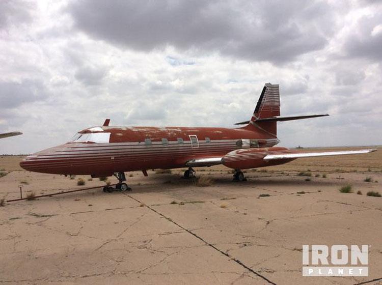 Se subasta el avión de Elvis Presley